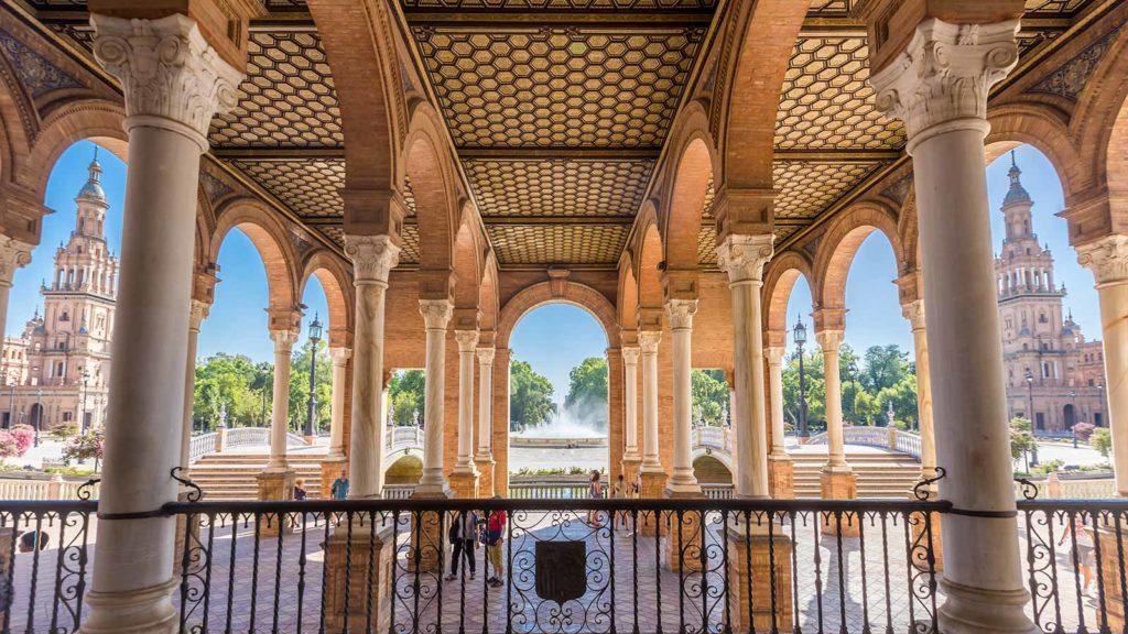 Tour en Sevilla | Plaza de España Sevilla Guías & Tours | Seville Guides & Tours